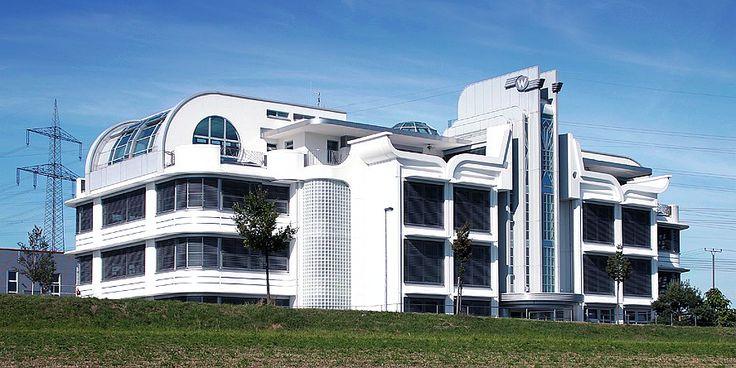 Art Deco houses | Link: Moderne Architektur in Europa: Das Art Deco WEIS HOUSE
