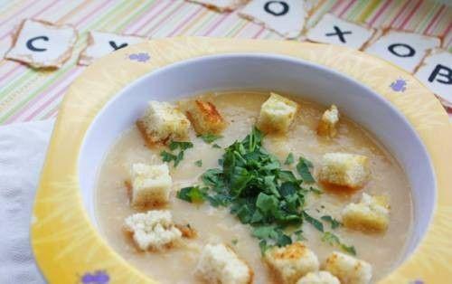 Гороховый суп-пюре для малышей