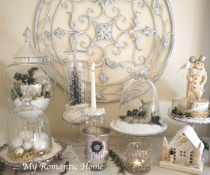 Best 25 luxury christmas decor ideas on pinterest for Mica decoration cloche