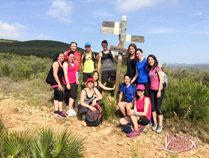#TeamISP Ruta senderista de 13'5 Km. Sierra Irta y animada comida. Experiencia estimulante y jornada de convivencia  antes de #SummerCampISP 2017