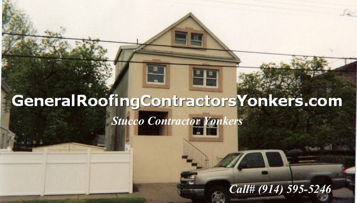 Stucco Contractor Yonkers http://www.generalroofingcontractorsyonkers.com/stucco/