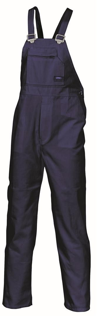 DNC Cotton Drill Bib and Brace Overall - Budget Workwear $49.95
