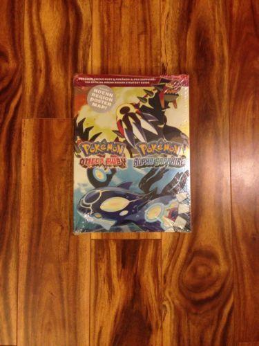 POKEMON - OMEGA RUBY / ALPHA SAPPHIRE - HOENN REGION STRATEGY GUIDE - NEW SEALED - http://video-games.goshoppins.com/video-game-strategy-guides-cheats/pokemon-omega-ruby-alpha-sapphire-hoenn-region-strategy-guide-new-sealed/
