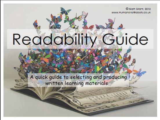 A quick guide to making texts - in print, online, or on your whiteboard - more accessible. Designed specifically for students with reading difficulties / dyslexia - but will benefit all students.