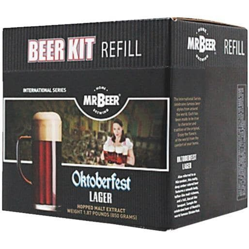 Coopers LLC/Mr Beer Octoberfest Lager Refill 60964 Unit: Each, Brown chocolate