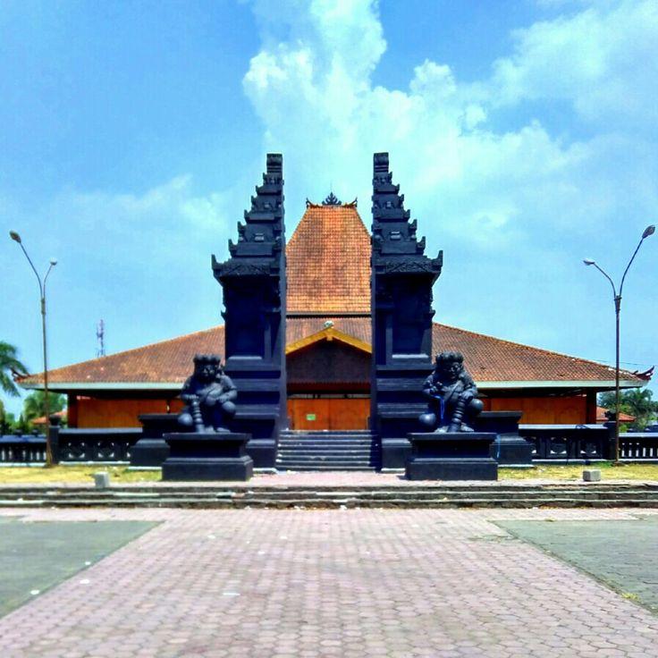 Front gate of Sasana Krisa Malang