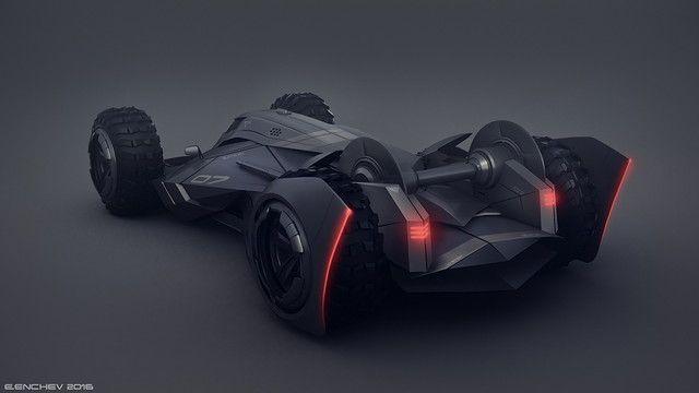 バットモービル コンセプト デザイン