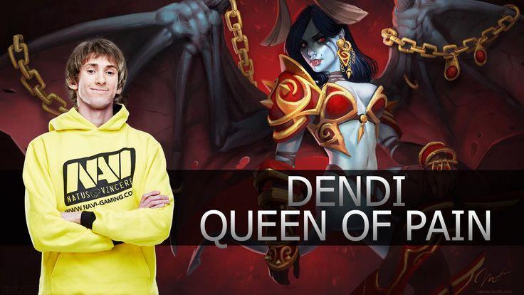 Dendi ● Queen of Pain ● Dota 2 ● MMR Gameplay