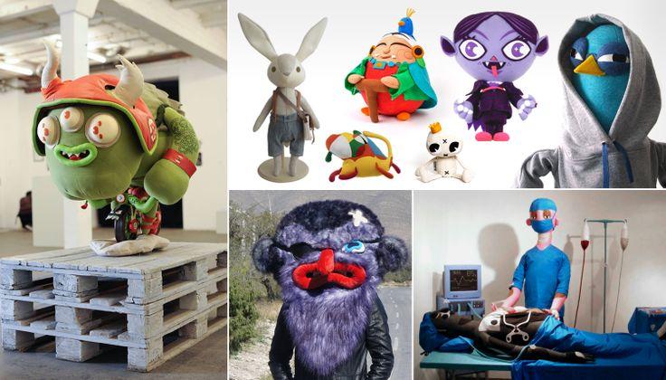Textile Toys: diseño y creación de personajes en tela | | Creatividad en Blanco