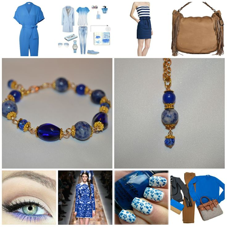 """Комплект - браслет, кулон и серьги """"Blue Sky Ethno"""" от Peonia accessori дизайн украшений, подарки, декор Натуральные самоцветы: лазурит, кошачий глаз, стеклянные бусины. Цена за комплект 1000 сом. Тел.: 0555 923935"""