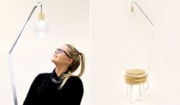 Holly Bradshaw-Clegg Chair and Lamp Design