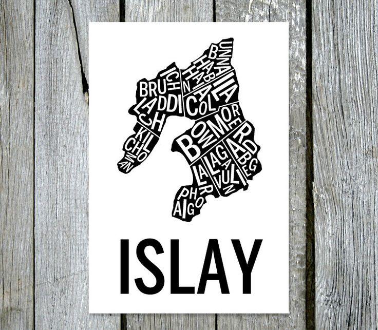 Display av Islay