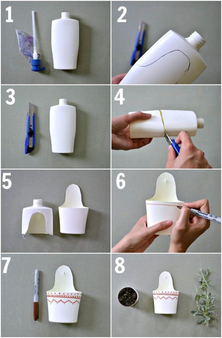 Breslo :: Breslog — Reciclare creativă – Tutorial cu flacon plastic