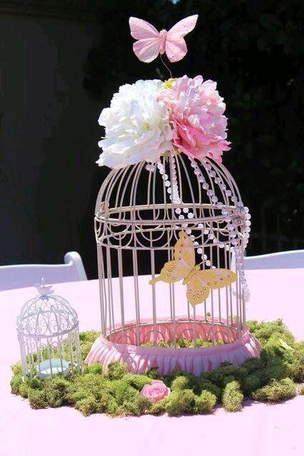 Butterfly garden centerpieces