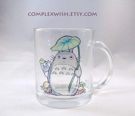My Neighbor Totoro clear 11oz mug by complexwish on Etsy