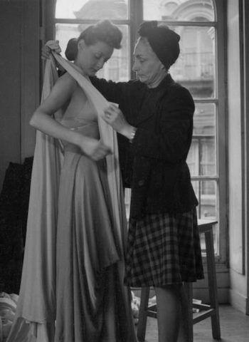 Master couturier Madame Gres