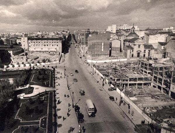 Calle Princesa, año 1948