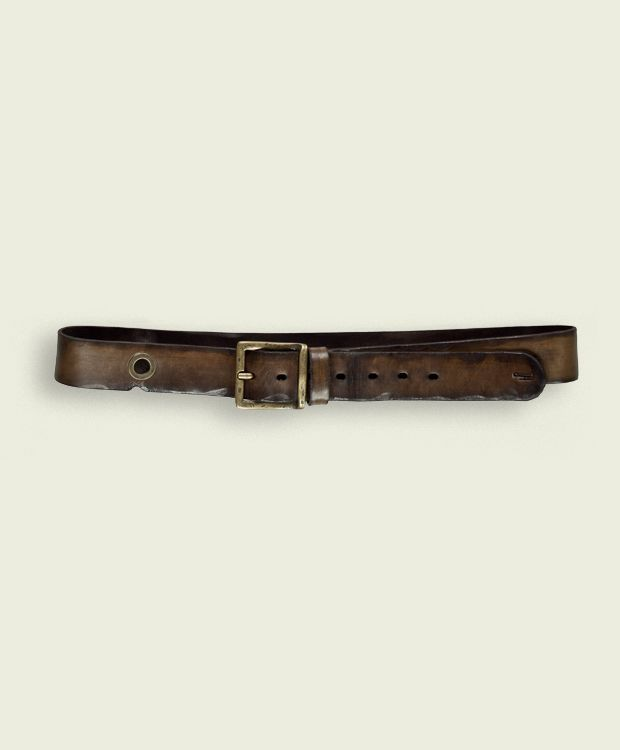 Tobruk - Dark Brown  Belt High 4,0 cm  100% Made in Italy - Verona  Certified Original Italian Product  Real Leather  Handmade  Vintage Aviation Department  £66