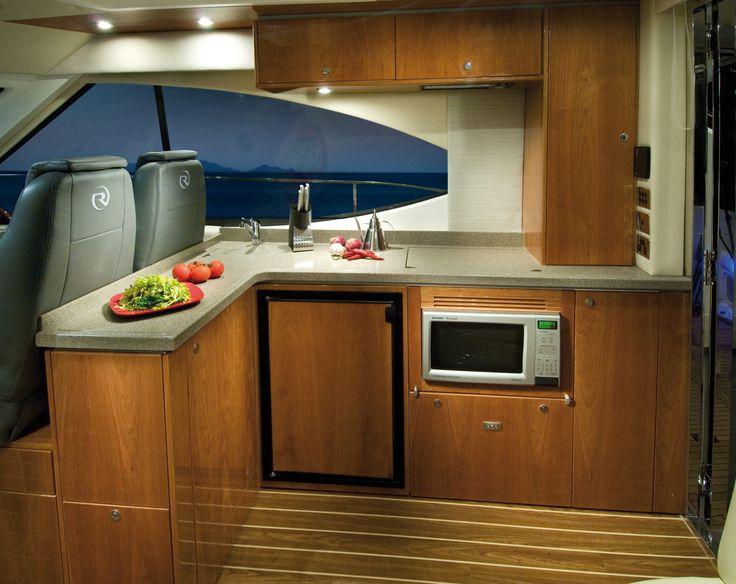 Riviera 4400 Sport Yacht Galley