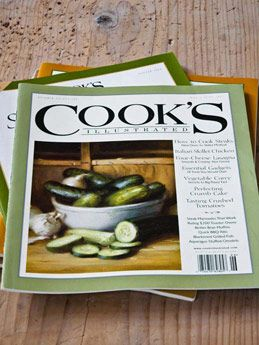 cooks illustrated magazine is a great source for cooking tips - Cooking Contessa