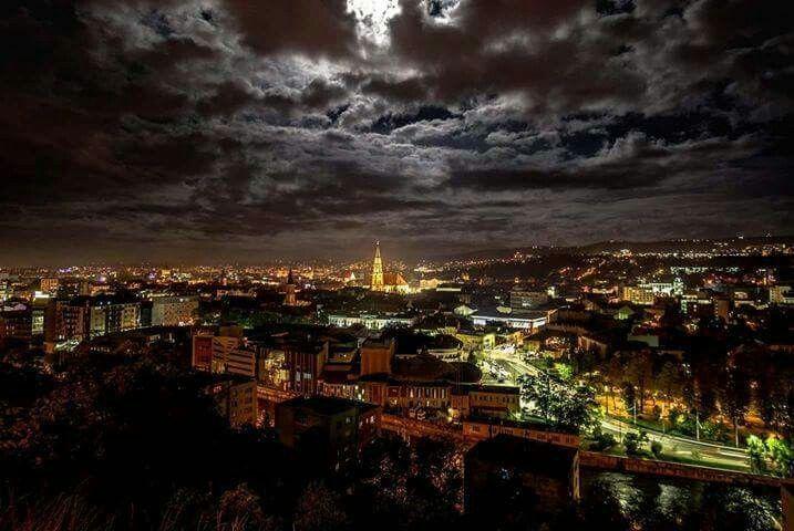 Full moon - Cluj-Napoca