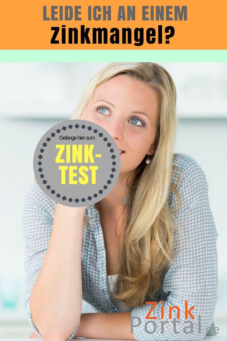Leiden Sie an Zinkmangel? Haben Sie Symptome wie brüchige Nägel, trockene und unreine Haut und mehr? Machen Sie den Zink Test und finden Sie es in 1 Minute heraus.