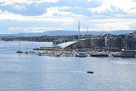 Oslo, Noruega, Puerto, El Fiordo De Oslo