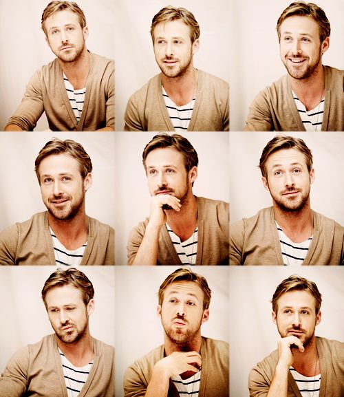Ryan Gosling. I believe the retro, but ideal, word I'm looking for is 'dreamboat'.