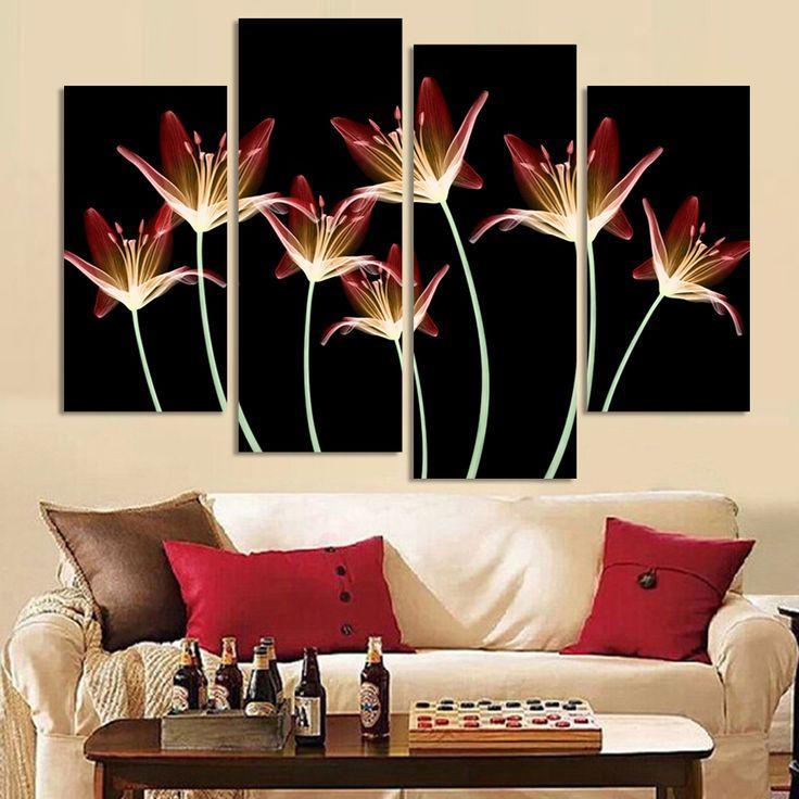 Resultado de imagem para decoração na sala de estar com flores e girassol