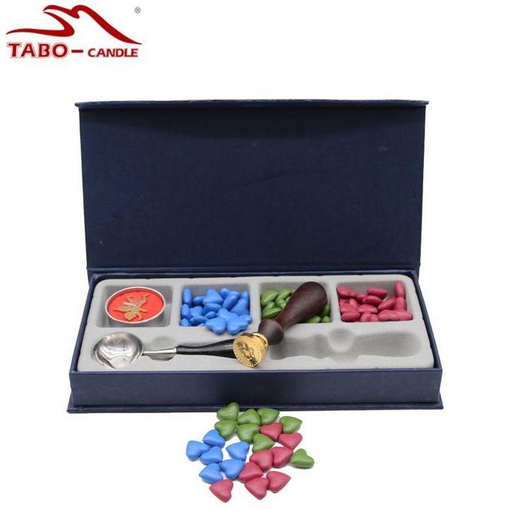 Sealing Wax Beads Set with Tealight