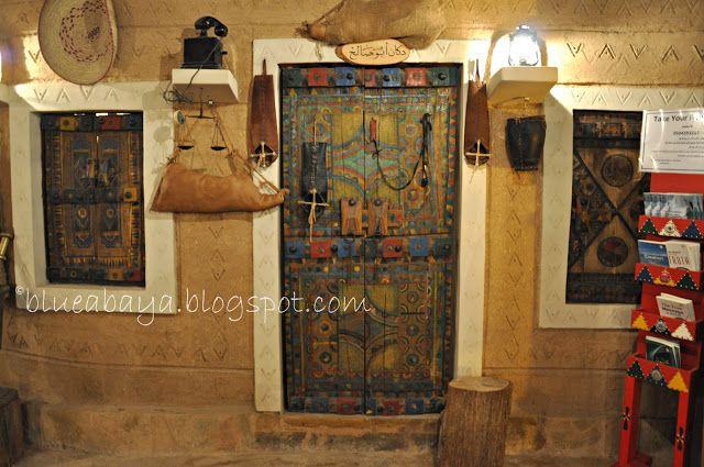 The Najdi village restaurant! Top Ten Restaurants in Riyadh   Blue Abaya
