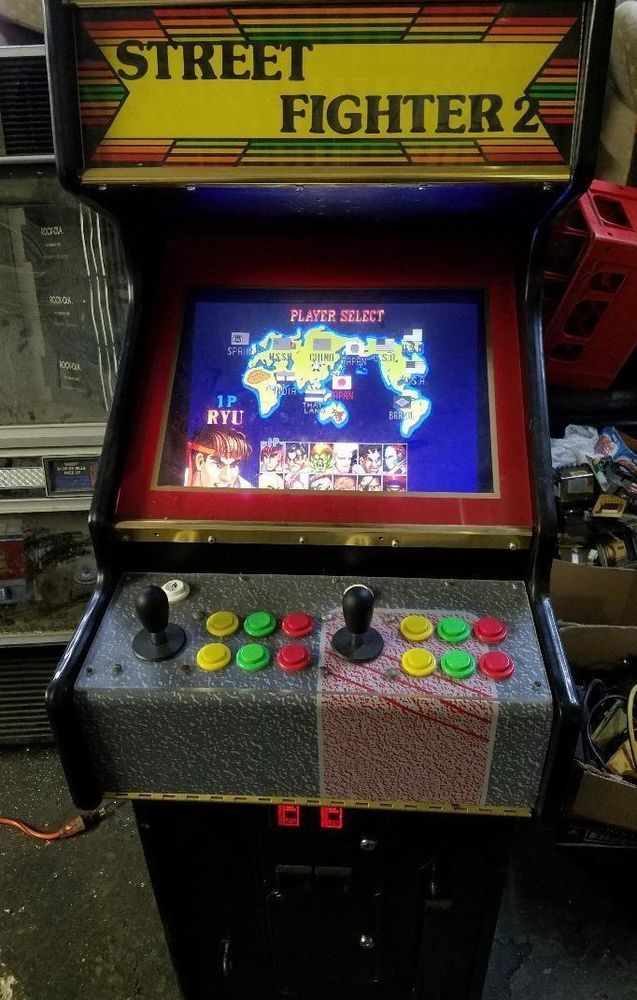 street fighter 2 champion edition arcade