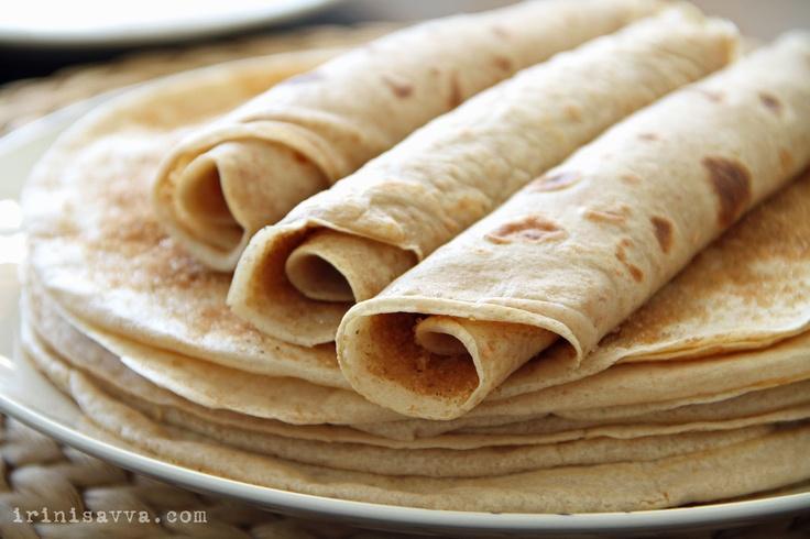South African Pannekoek (pancake)