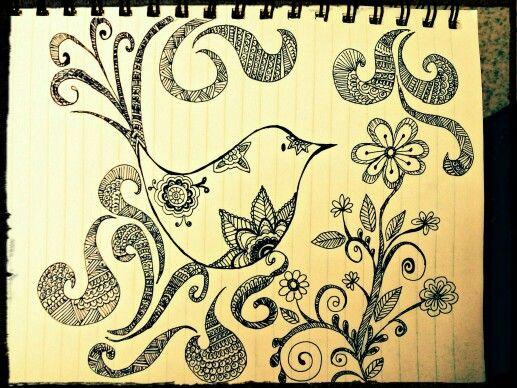 Birdy doodle