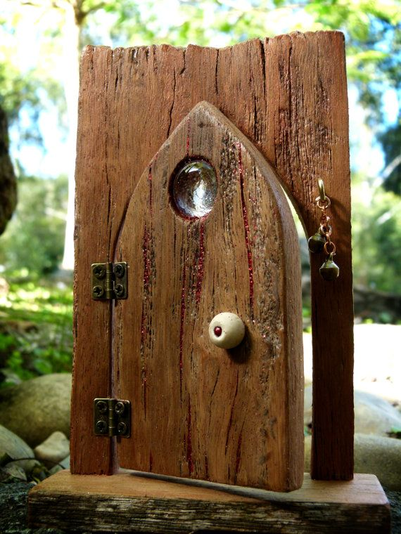 244 best images about fairy doors on pinterest a tree for Wooden fairy doors