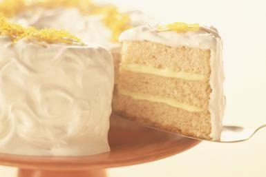 Three-Layer Buttermilk White Cake: Buttermilk Cake