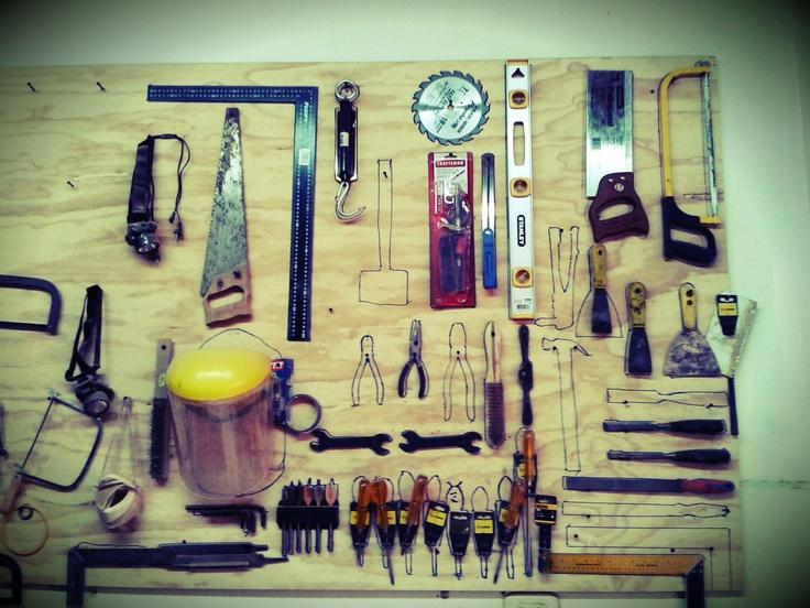 17 mejores ideas sobre organizaci n de herramientas de for Cobertizo de herramientas