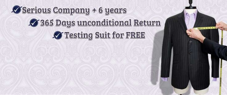 If you are looking for fashionable men's custom suits online, make sure to check Tailored Suit! You can design your tailored suit online and they also make other men's custom garments like jackets, pants and coats.