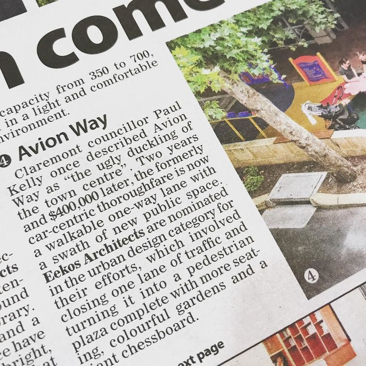 Thanks @postnewspapers for mentioning our work in #avionway #claremont which is in this years WA architecture awards #waarchitectureawards #architects_wa