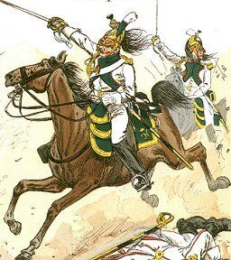Naples Dragoon Regiment in 1812