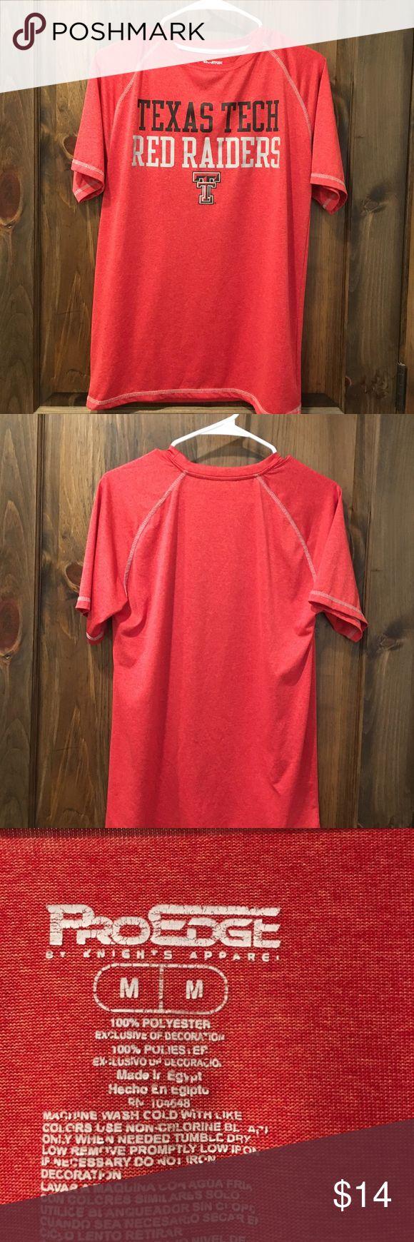 Texas Tech Athletic Shirt Texas Tech Athletic Shirt Pro Edge Shirts Tees - Short Sleeve