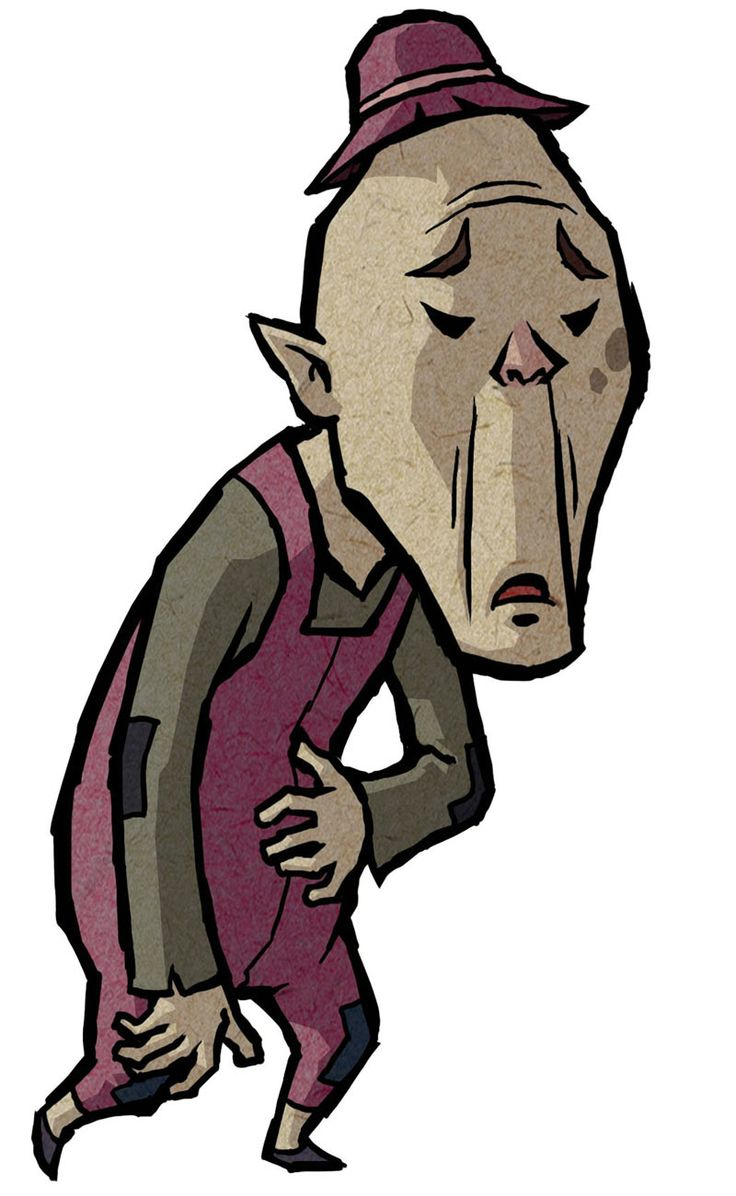 Maggie's Father - Characters & Art - The Legend of Zelda: The Wind Waker HD
