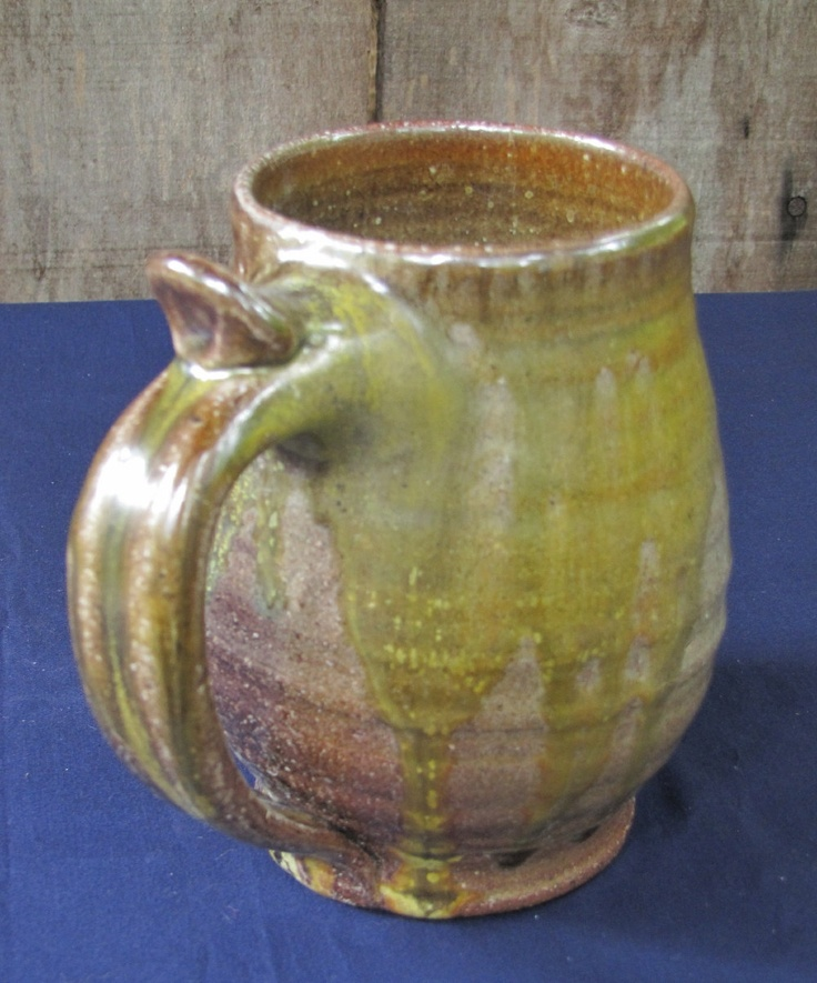 Hrothgar's Large Mead Hall Tankard    24 ounces by lockmanpottery, $24.00