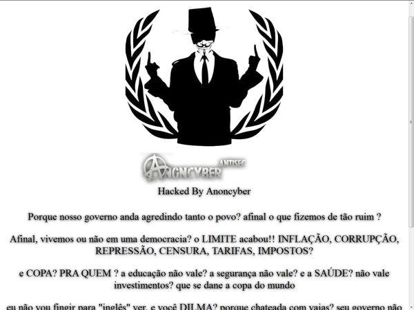 Hacker invade site da Acerj e deixa mensagem contra realização da Copa do Mundo da Fifa 2014 - Yahoo Esporte Interativo