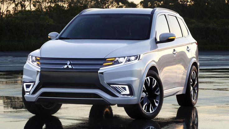 #Mitsubishi #Outlander PHEV Concept-S, 2014 Paris #Auto Show. See more on Motor Authority