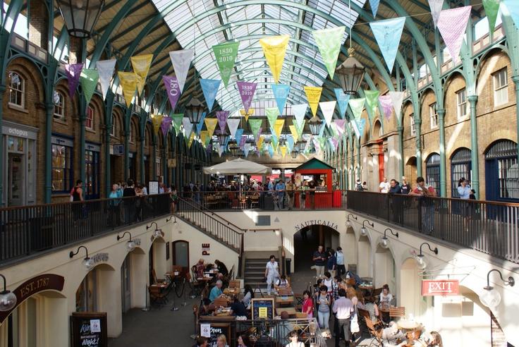 Apple Market, Covent Garden, London