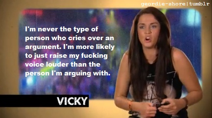 #Geordie Shore I totally agree
