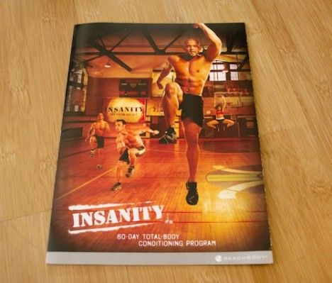 Insanity DVD workout review - takes you through week by week what to expect