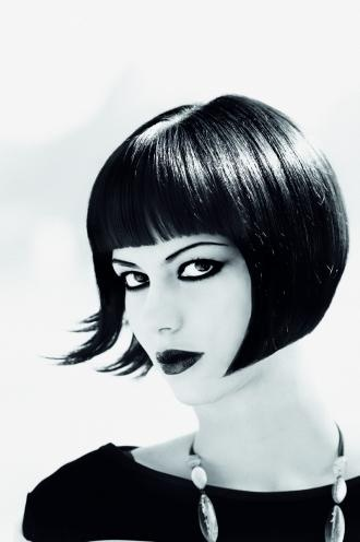 Intercoiffure Mondial, the best of Rio  Traditional bob hairstyle