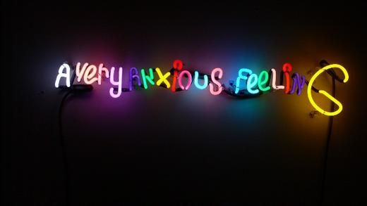 ASSUME VIVID ASTRO FOCUS a very anxious feeling, 2007 Lot Number 32 Neon tubing 6 x 30 x 2 in (15.24 x 76.2 x 5.08 cm) Edition of 22 3 AP Accompanied by certificate of authenticity Estimate $4,000 - $6,000 @paddle8